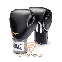 Боксерские перчатки Перчатки боксерские тренировочные Pro Style 16 унций чёрные от Everlast
