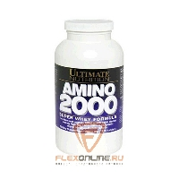 Аминокислоты Super Whey Amino 2000 от Ultimate Nutrition