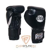 Боксерские перчатки Перчатки боксерские на липучке 18 унций чёрные от Cleto Reyes