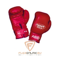 Боксерские перчатки Перчатки боксерские ABID 12 унций красные от Green Hill