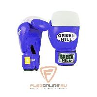 Боксерские перчатки Перчатки боксерские SUPER STAR 10 унций синие от Green Hill
