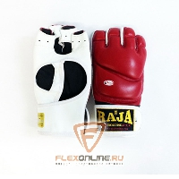 Перчатки MMA Перчатки MMA на липучке L красные от Raja