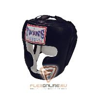 Шлемы Боксерский шлем тренировочный с креплением на липучке M чёрный от Twins