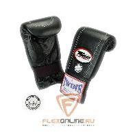 Cнарядные перчатки Перчатки снарядные на резинке  L чёрные от Twins