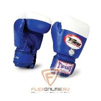 Боксерские перчатки Перчатки боксерские соревновательные 8 унций синие от Twins