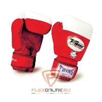 Боксерские перчатки Перчатки боксерские соревновательные 10 унций красные от Twins