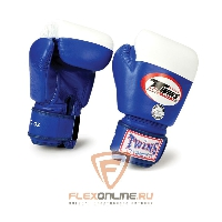 Боксерские перчатки Перчатки боксерские соревновательные 12 унций синие от Twins