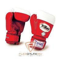 Боксерские перчатки Перчатки боксерские соревновательные  16 унций красные от Twins