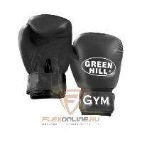 Боксерские перчатки Перчатки боксерские GYM 14 унций чёрные от Green Hill