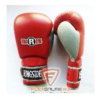 Боксерские перчатки Боксерские перчатки тренировочные 14 унций красно-серые от Ringside