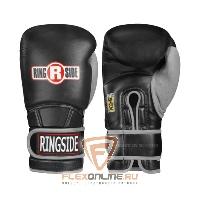 Боксерские перчатки Боксерские перчатки тренировочные 14 унций черно-серые от Ringside
