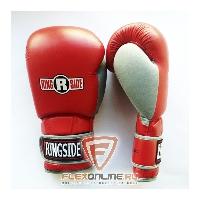 Боксерские перчатки Боксерские перчатки тренировочные 18 унций красно-серые от Ringside