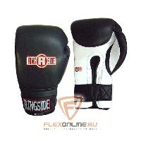Боксерские перчатки Боксерские перчатки тренировочные 16 унций черно-белые от Ringside