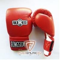 Боксерские перчатки Боксерские перчатки тренировочные 16 унций красно-белые от Ringside
