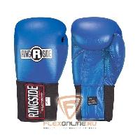 Боксерские перчатки Перчатки боксёрские соревновательные на липучке 12 унций синие от Ringside
