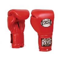 Боксерские перчатки Перчатки боксерские на липучке 6 унций красные от Cleto Reyes