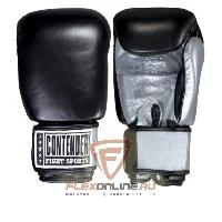 Боксерские перчатки Перчатки боксерские тренировочные на липучке 16 унций от Contender