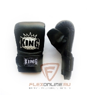 Cнарядные перчатки Перчатки снарядные на резинке L чёрные от King