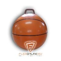 """Детский фитнес Мяч попрыгун с ручкой """"баскетбол"""" от Sport Pioneer"""