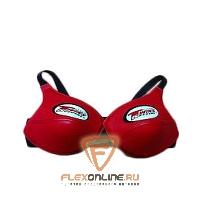 Защита тела Защита груди женская, размер L, красная, нат.кожа от Twins