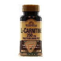 L-карнитин L-Carnitine 250mg от Windmill