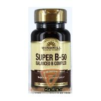 Витамины Super B-50 Balanced B Complex от Windmill
