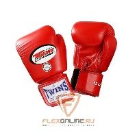 Боксерские перчатки Перчатки боксерские тренировочные 6 унций красные от Twins