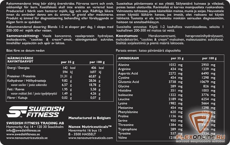 концентрат сывороточного протеина купить в москве